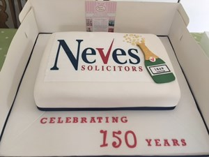 Neves 150 Celebration Cake