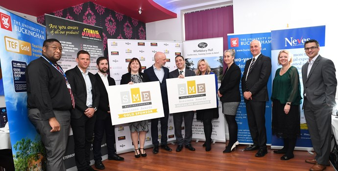 Sponsors of the SME Buckinghamshire Business Awards