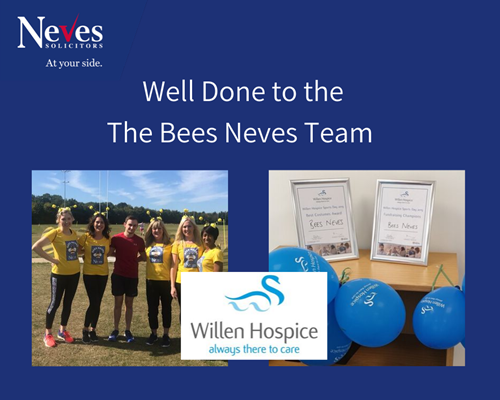 Bees Neves Sports Day Team