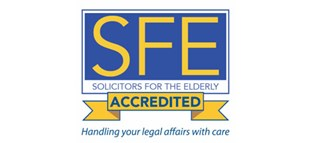 Solicitors for the elderly accredited logo