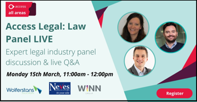 Access All Area Legal Panel Live